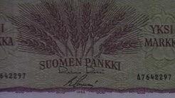 Suomen markkasetelit: Sacklén mallin 1963 markan seteleissä