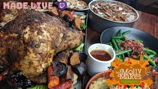 Live Cooking   Thanksgiving!   #282