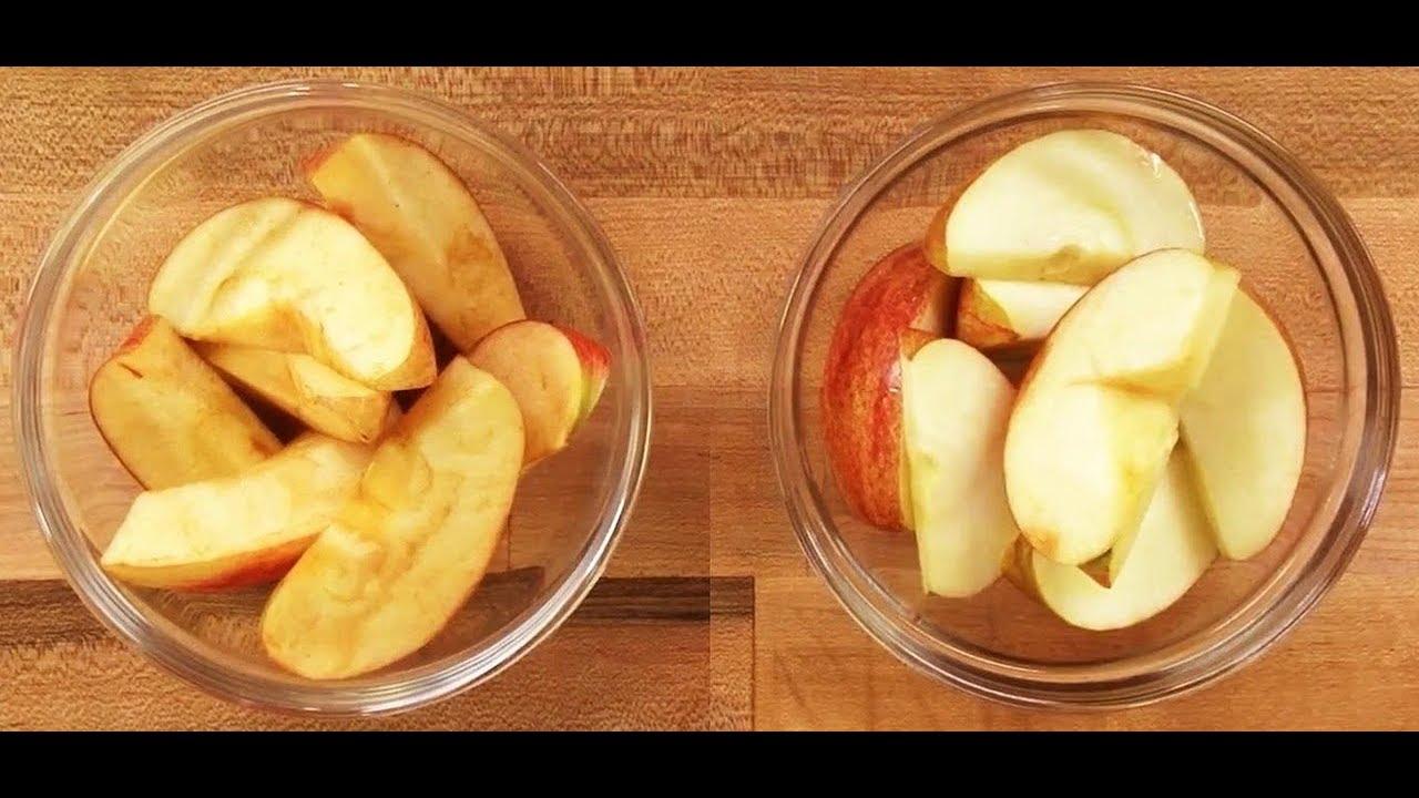 أضف إلى معارفك 4 خطوات اعرف سر تغير لون التفاح إلى البني عند تقطيعه Youtube