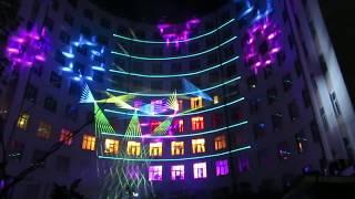 """ДРУГОЙ ОРКЕСТР. URAL MUSIC NIGHT 2018. ГОСТИНИЦА """"ИСЕТЬ"""". ЛАЗЕРНОЕ ШОУ. 3D MAPPING"""