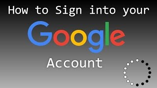 how to sign into your google account