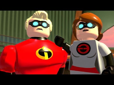 Incredibles 2 Full Game Walkthrough (LEGO The Incredibles)