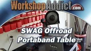 Swag Offroad Portable Band Saw Table.