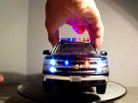 1/18 LAPD Chevrolet Suburban Police SUV Custom Model car W ...