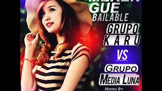 GRUPO KARU VS MEDIA LUNA BAILABLES Mixing By Deejay Gabriel Alexander El Nuevo Talento De Sucre
