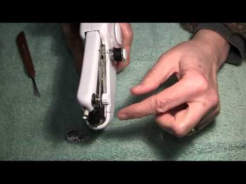 How To Use The Singer Handy Stitch Part 40B YouTube Magnificent Handy Stitch Sewing Machine Not Stitching Properly