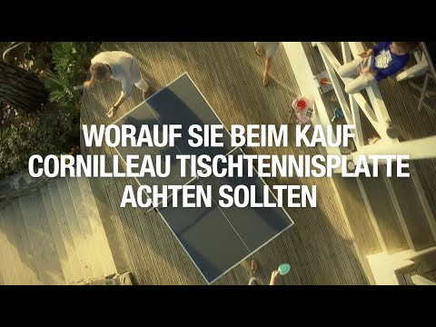 "Video: cornilleau Tischtennisplatte  ""100 S Crossover"""