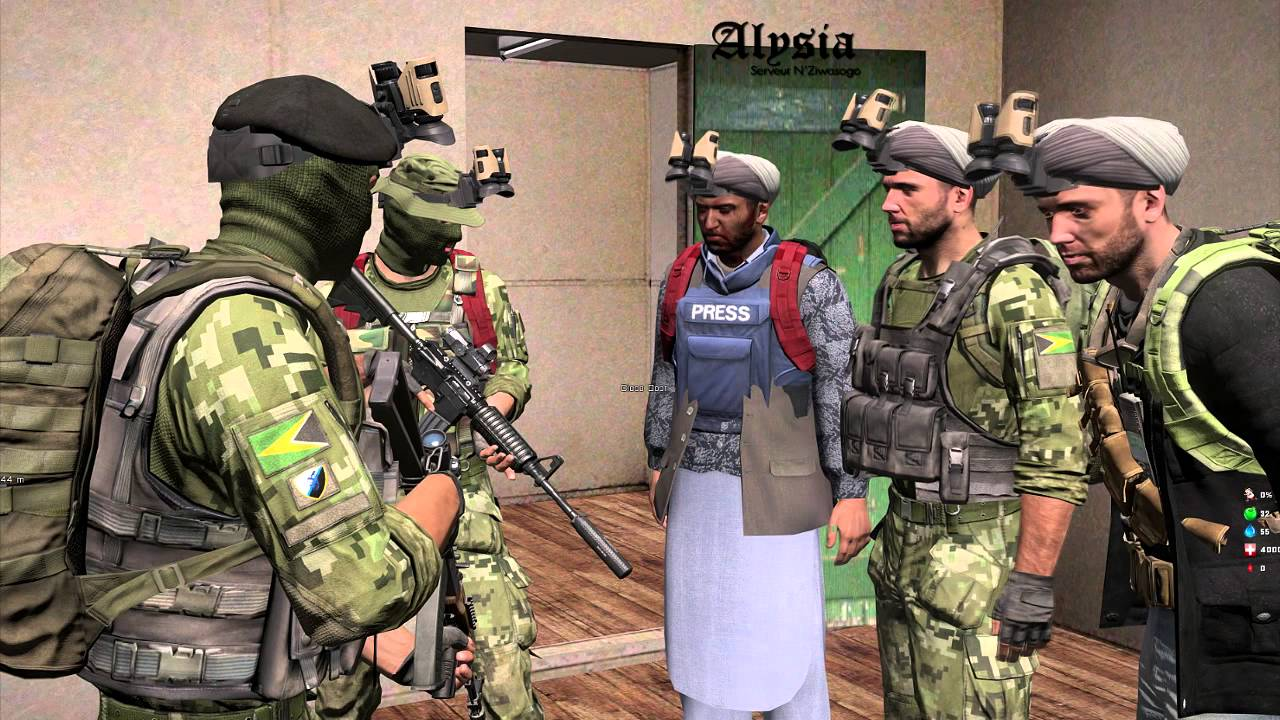 Arma 3 N'Ziwasogo Life P'tite discussion avec le FT sur Alysiarp