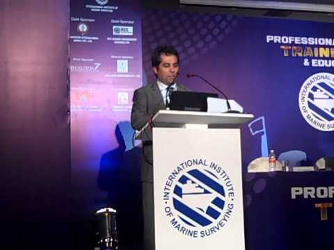 Zarir Irani's presentation on 360 degrees training needs of Marine Consultants