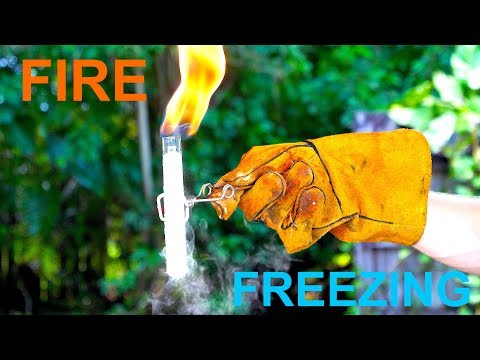 Its like Liquid Nitrogen - but Fire!