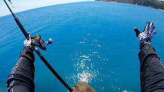 Fishing deserted helipad