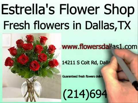 Fresh flowers in Dallas, TX 75254