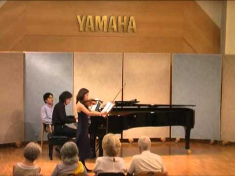 Prokofiev: Violin Sonata No.2, Op.94a (IV Mov.) - Valya Dervenska, Violin & Christian Badian, Piano