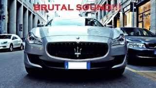 2014 Maserati Quattroporte GTS INSANE Sound Revs and Accelerations