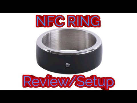 Smart Ring - NFC RING IDARLIN - Unboxing Hands On (Indonesia