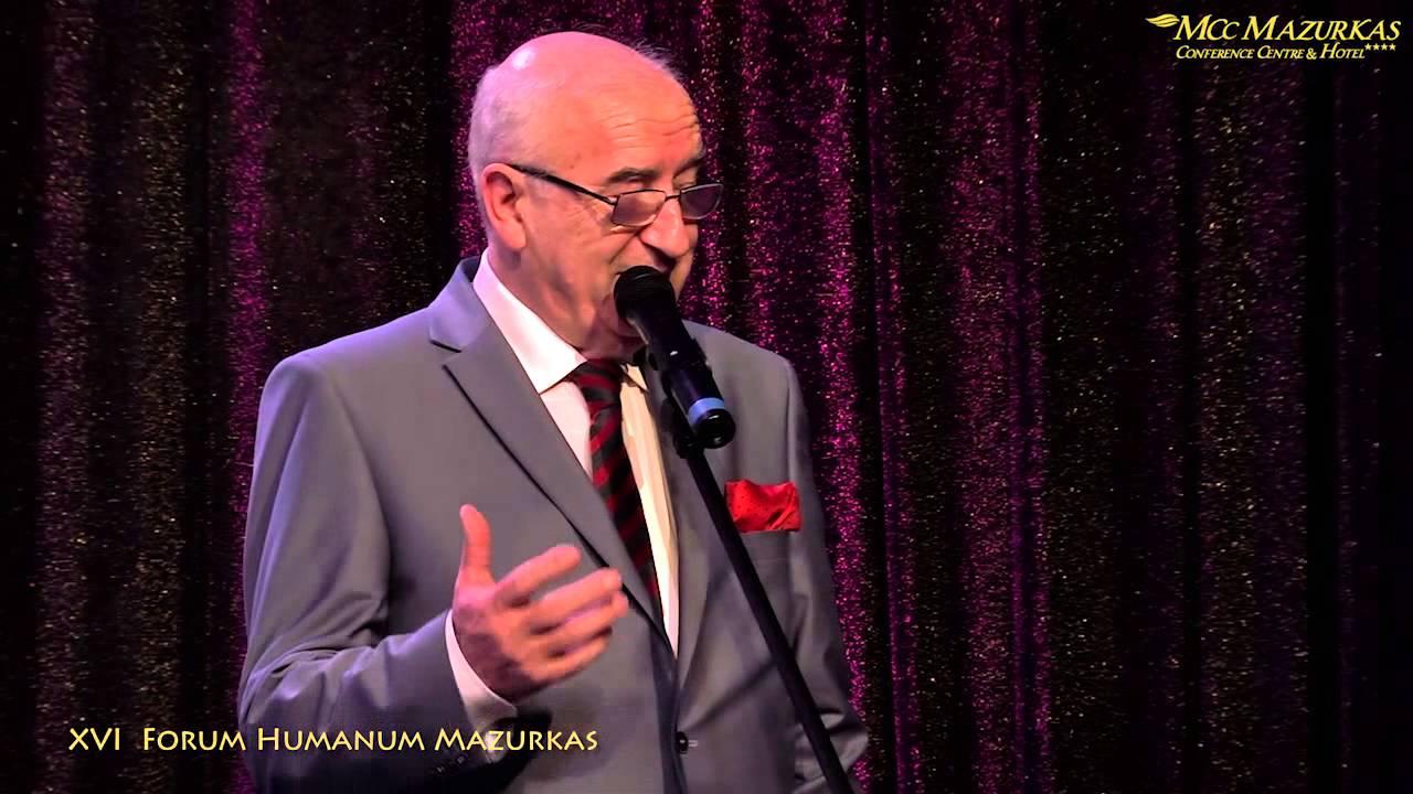 XVI Forum Humanum Mazurkas -  Andrzej Bartkowski wiersz dla zony-