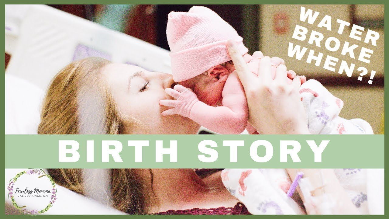 My Positive Birth Story | No Epidural 3 hour Labor - YouTube