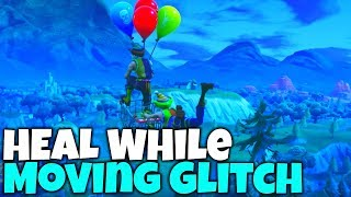 How To HEAL While MOVING GLITCH IN FORTNITE! | Fortnite Pro Tips & Tricks!