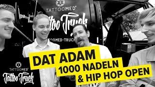 Interview mit: DAT ADAM @ Hip Hop Open mit dem TATTOO TRUCK | TattooMed