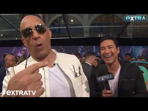 Vin Diesel Shows Off His Groot-Inspired Jacket at 'Avengers: Infinity War' Premiere