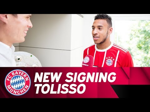 """I was determined to come here"" - The first interview of new signing Corentin Tolisso"