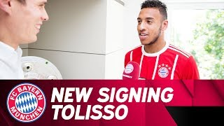 """""""i was determined to come here"""" - the first interview of new signing corentin tolisso"""