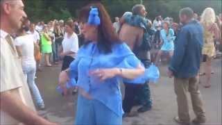 Танцы на день города Сафоново, 2013 год