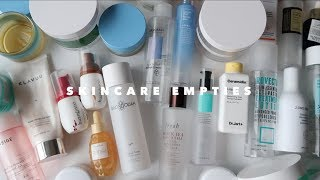 MASSIVE SKINCARE EMPTIES: K-Beauty I loved & hated 🤔
