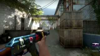 best possible ak 47 case hardened field tested and flip knife 110 fade