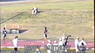 200m Dash Prelim at Lone Star Conference in San Angelo, Texas 2000