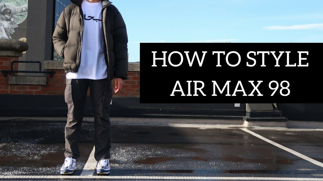 how to style nike air max 98 cone