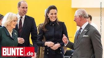 Herzogin Kate - Herzliche Szenen: So eng ist ihr Verhältnis mit den Schwiegereltern