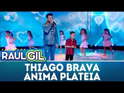 Thiago Brava anima plateia | Programa Raul Gil (10/03/18)