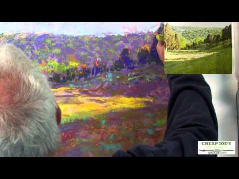 Pastel Techniques with Paul deMarrais - A Color Value Composition (Part 3)
