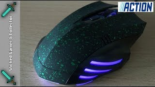 """""""2018""""  Maxxter RX750 / Low Budget 5 Euro - Gaming Mouse Unboxing & Review"""