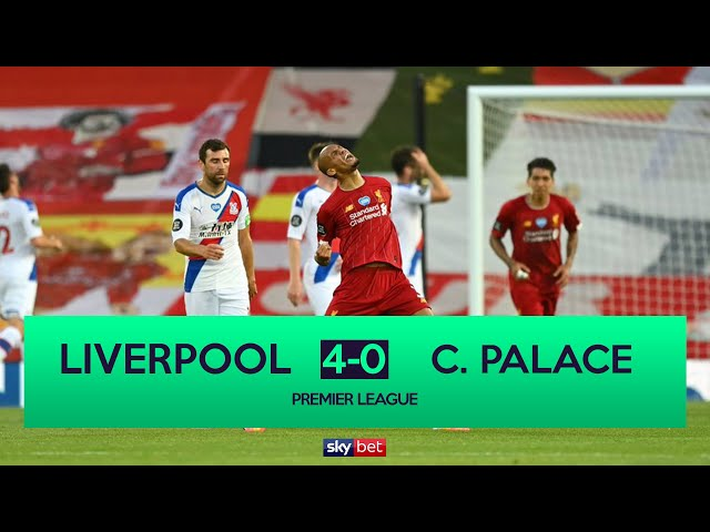 Liverpool 4-0 Crystal Palace | Liverpool on Verge of Title