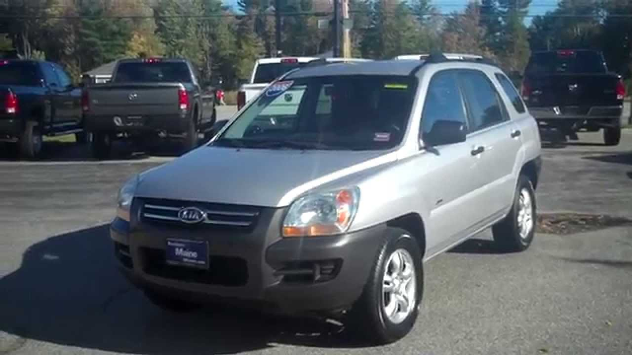 Best priced used 2006 kia sportage ex stk t6610b southern for Southern maine motors saco maine