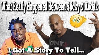 What Really Happened Between Sticky & Kodak On The Tour Bus!! thumbnail