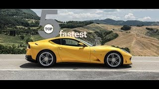 Top 5 fastest supercars in the world.