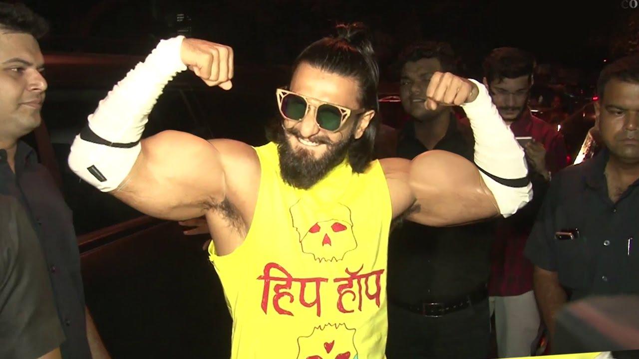 Ranveer Singh Shows SHOCKING Body Transformation For ...