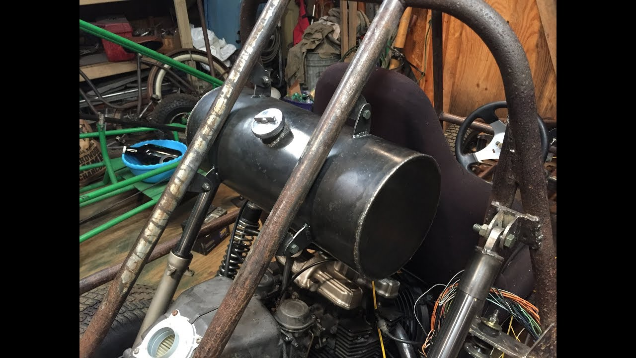Making The Gas Tank For The Dune Buggy
