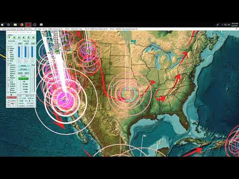 12/06/2017 -- Southern California struck by Earthquake -- Warning issued 2 days prior