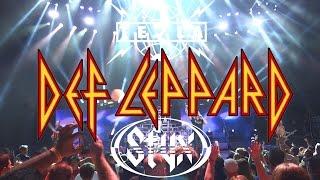 HD Def Leppard / Styx / Tesla Shoreline Amphitheatre 2015 - Full Concert