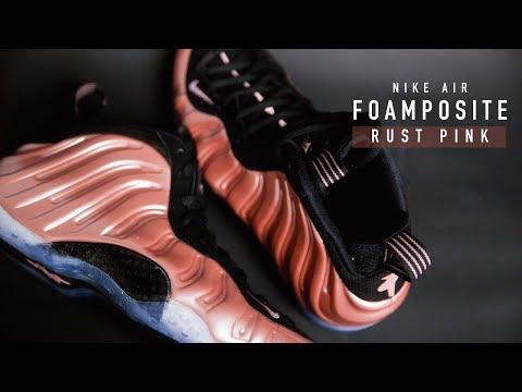 FIRST LOOK: Nike Air Foamposite 'Rust Pink' | SHIEKH