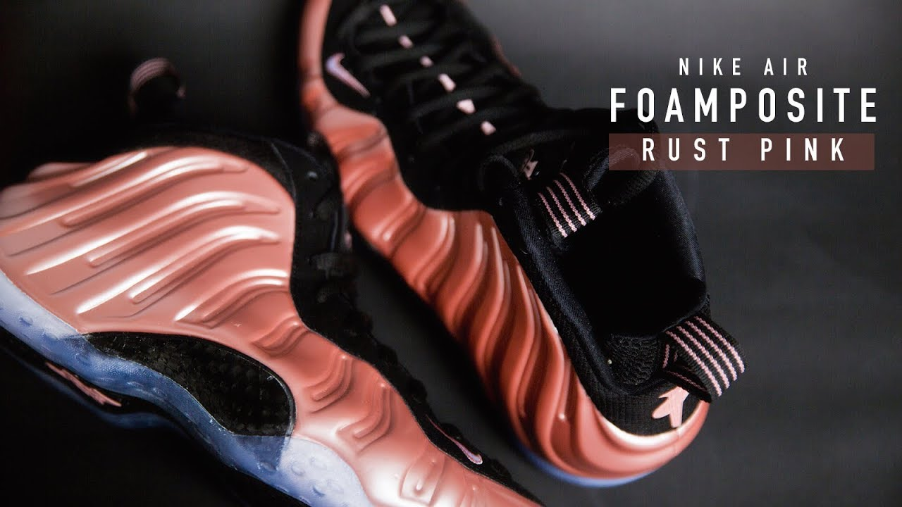 8122d7809b4 FIRST LOOK  Nike Air Foamposite  Rust Pink