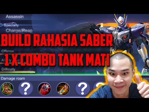Tutorial Saber, 1X COMBO MUSUH MATI !! By Jess No Limit - Mobile Legends Indonesia