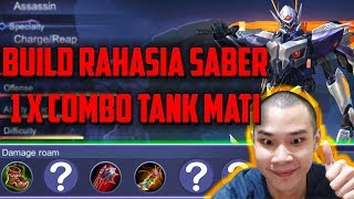 Tutorial Saber 1X COMBO MUSUH MATI  By Jess No Limit - Mobile Legends Indonesia