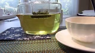 Tea blablabla magic paper Chinese calligraphy asmr