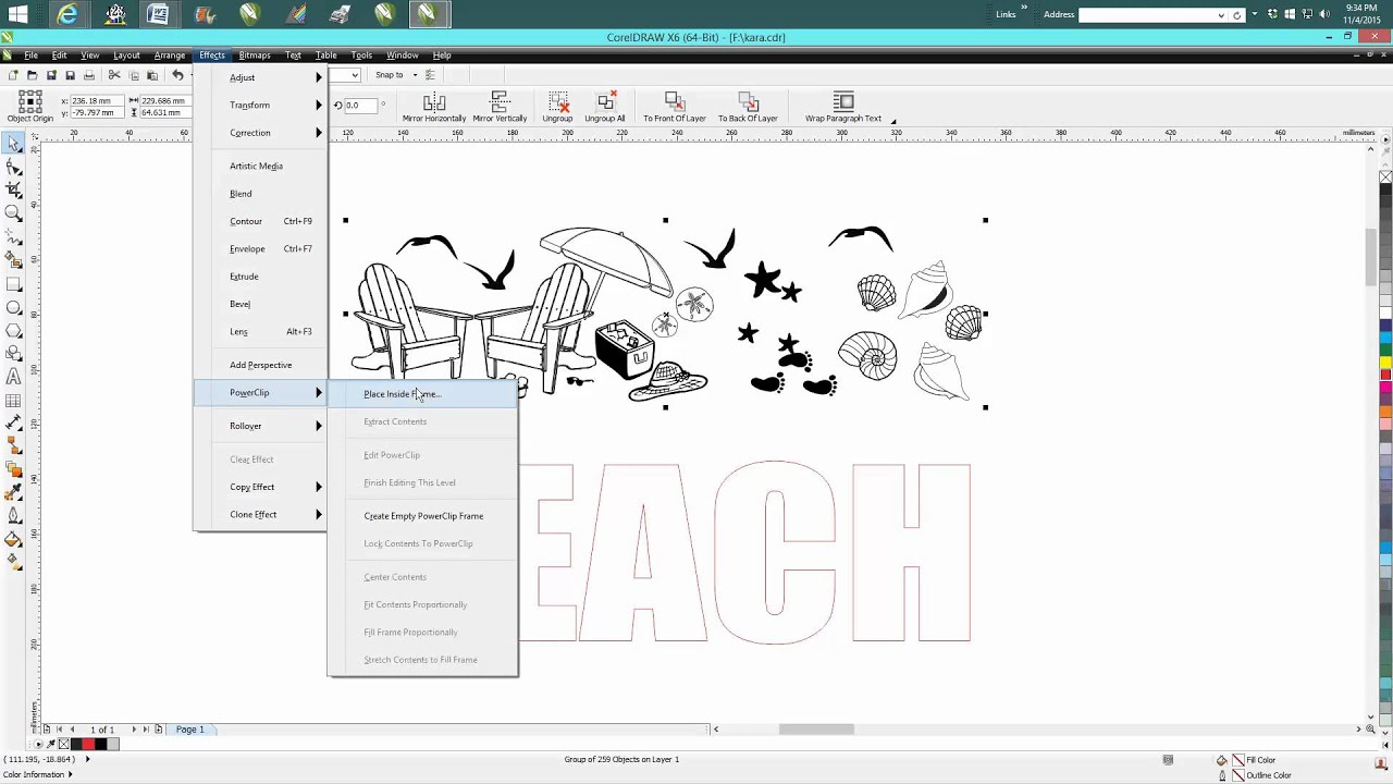 Corel draw clipart images - Corel Draw Tips Tricks Adding Clip Art To Your Text