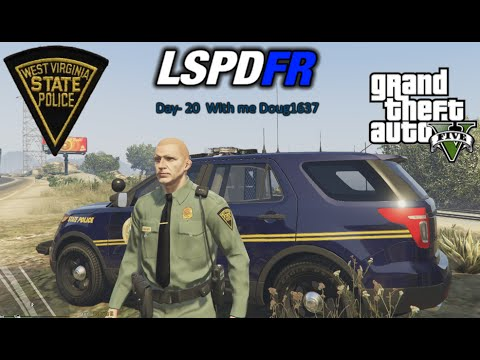 "GTA5 LSPDFR Day-20 ""State Patrol"" (West Virginia)"